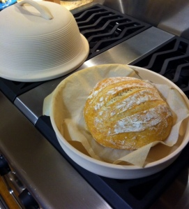 Bakery Fresh French Boule Bread at Home!